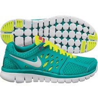 Nike Women's Flex 2013 Run Running Shoe - Sport Turquoise/Yellow | DICK'S Sporting Goods