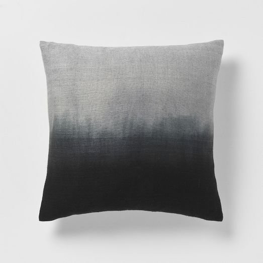Dip Dye Rainbow Silk Pillow Cover From West Elm Epic