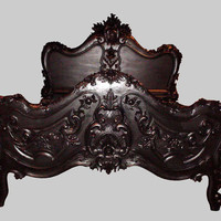 Jimmie Martin Ltd  BAROQUE BLACK BED