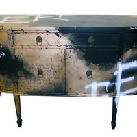 Jimmie Martin MOON GOLD SIDEBOARD