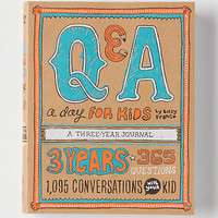 Q&A A Day For Kids: A Three Year Journal
