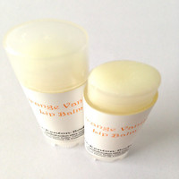 Orange Vanilla Lip Balm, Creamsicle, Organic, Vegan Chapstick
