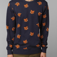 Character Hero Tiger Heads Pullover Sweatshirt