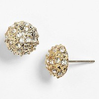 Rachel Rhinestone Dome Stud Earrings | Nordstrom