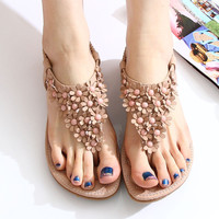 Fashion Florals bohemian Sandals Shoes