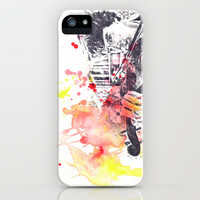 Benedict Cumberbatch As Sherlock Holmes iPhone & iPod Case by idillard