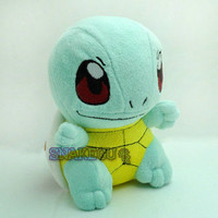"6.5"" New Pokemon SQUIRTLE Cute Plush Soft Doll Toy Rare New+PC1919"