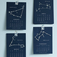 Stitch Upon the Stars 2014 Calendar | Mod Retro Vintage Desk Accessories | ModCloth.com