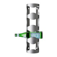 Vurm 4-bottle Wine Rack, Stainless Steel