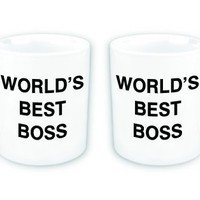 WORLD&#x27;S BEST BOSS Coffee Mug