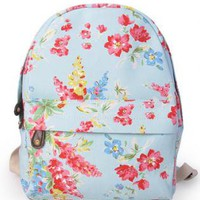 Pastorale Floral Print Backpack