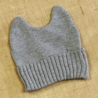 Can't Believe My Ears Beanie: Gray [BC1645] - $11.99 : Spotted Moth, Chic and sweet clothing and accessories for women