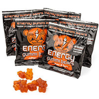Energy Gummi Bears Five Pack