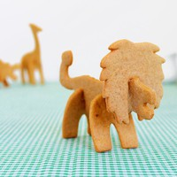 Safari Animal Cookie Cutters at Firebox.com