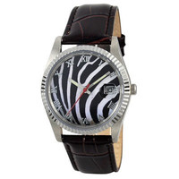 Zebra Stripe Watch by SandMwatch on Etsy