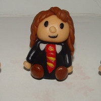 "Fondant ""HARRY POTTER Inspired"" Figures- Set Of 4"