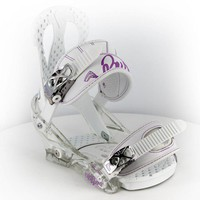 Burton Citizen Women's Snowboard Bindings (Closeout) - white - Snowboard Shop > Snowboard Bindings > Women's Snowboard Bindings