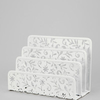 Urban Outfitters - Floral Cutout Memo Holder