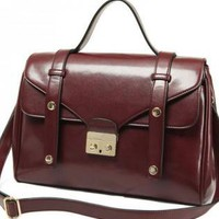 Wine Red Color Doctor Bag
