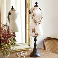 Vintage Bust Form | Pottery Barn