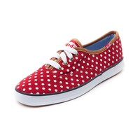 Womens Keds Champion Dot Casual Shoe, Red | Journeys Shoes