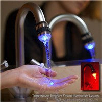H2Glow(tm) | LED Faucet Light | Temperature Sensitive