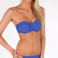 Jessica Simpson Juniors Americana Convertible Underwire Swim Bra at Von Maur