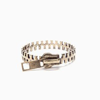 Zipper Cuff from Nasty Gal