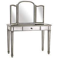 Pier 1 Imports > Catalog > Furniture > Pier1ToGo Product Details - Hayworth Mirror & Vanity