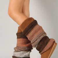 Qupid Rascal-05 Slouchy Knit Sweater Knee High Boot