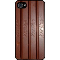 Kit Kat Chocolate Bar Black Hard Case Cover for Apple iPhone