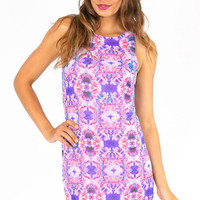 Kaleidoscope Shift Dress $47