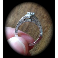 Have You Seen the Ring?: 0.63ct Pear Shaped Engagement Ring