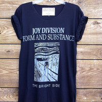 Joy Division Form and Substance T-shirt