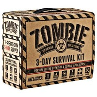 Zombie Defense Solutions: 3-Day Survival Kit:Amazon:Sports & Outdoors