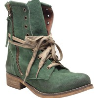 Hydra Combat Boot - Green - Shoes | GYPSY WARRIOR