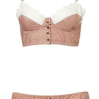 Ditsy Floral Bralet and Mini - Lingerie  Sleepwear  - Apparel  - Topshop USA