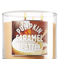 Pumpkin Caramel Latte 14.5 oz. 3-Wick Candle   - Slatkin & Co. - Bath & Body Works