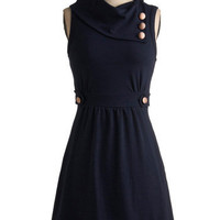 Coach Tour Dress in Bleu | Mod Retro Vintage Dresses | ModCloth.com