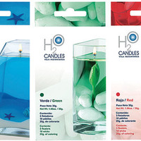 H2O Instant Water Candle Kit