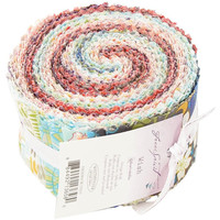"Jelly Roll Wish by Valori Wells-Design Roll 2.5""X44"" Cuts 30 ct"