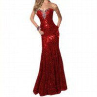 Sexy Shining Sequins Slimline Long Maxi Formal Prom Party BallGown Evening Dress