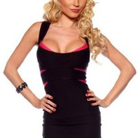 Cross Back Fitted Bandage Clubwear Cocktail Party Dress