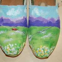 "Custom Toms, inspired by ""Cruise"" Florida Georgia Line, shoes included, your size and color"