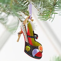 Evil Queen Shoe Ornament | Disney Store