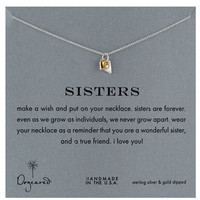 Women's Dogeared 'Reminder - Sisters' Boxed Pendant Necklace