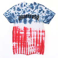 Whatever Forever USA Tie Dye T-Shirt (Select Size)