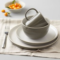 Brook Dinnerware Set - Dark Moss