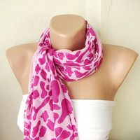 MOTHER'S DAY 25 SALE Pink Leopard design with lace by Periay