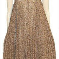 Jody of California Brown Gossamer Vintage 70s Dress